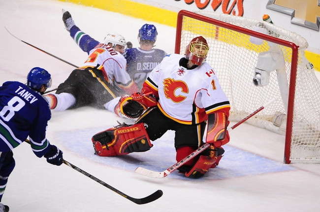 Vancouver Canucks vs. Calgary Flames - 1/10/15 NHL Pick, Odds, and Prediction