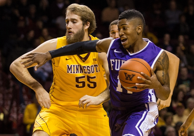 Furman vs. VMI - 1/10/15 College Basketball Pick, Odds, and Prediction