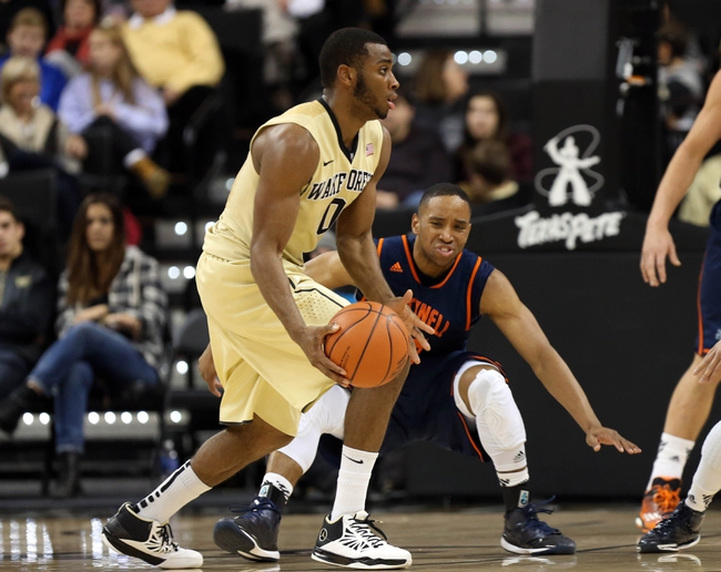 Wake Forest vs. Georgia Tech - 1/10/15 College Basketball Pick, Odds, and Prediction