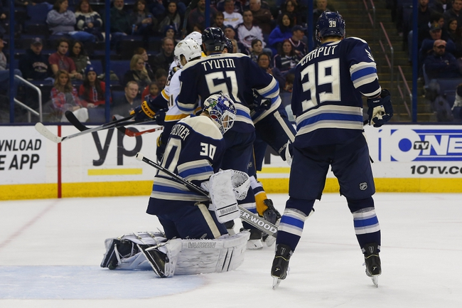 Columbus Blue Jackets vs. Nashville Predators - 11/20/15 NHL Pick, Odds, and Prediction