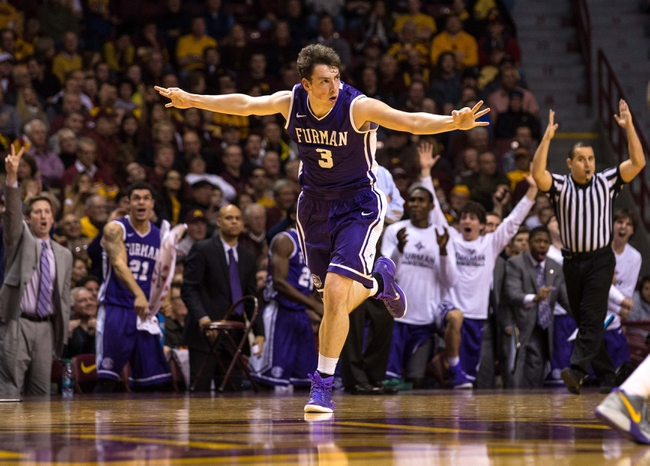 Western Carolina Catamounts vs. Furman Paladins - 1/5/15 College Basketball Pick, Odds, and Prediction