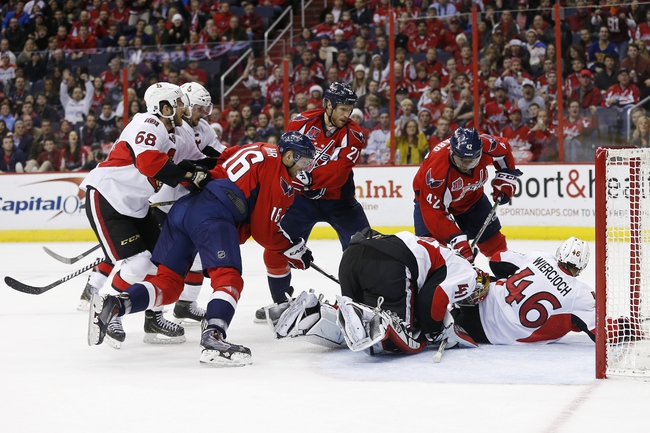 Senators vs. Capitals - 2/5/15 NHL Pick, Odds, and Prediction