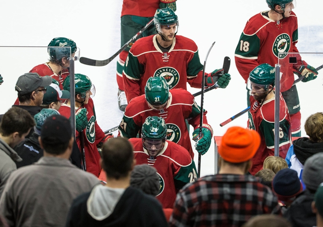 Minnesota Wild vs. Philadelphia Flyers - 1/7/16 NHL Pick, Odds, and Prediction