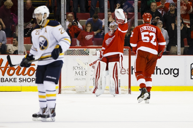 Sabres vs. Red Wings - 1/13/15 NHL Pick, Odds, and Prediction