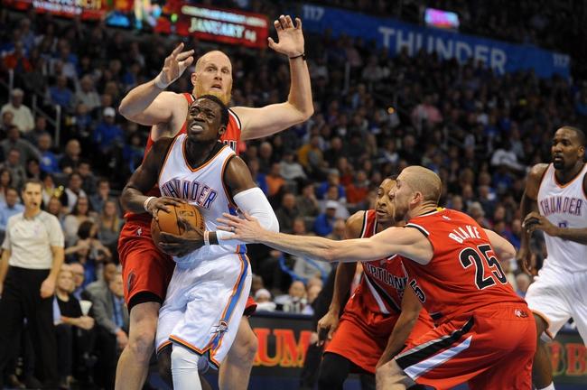 Trail Blazers vs. Thunder - 2/27/15 NBA Pick, Odds, and Prediction