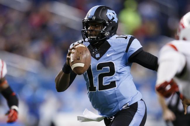 North Carolina vs. South Carolina - 9/3/15 College Football Pick, Odds, and Prediction