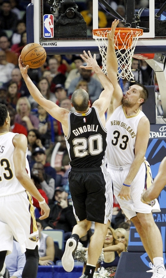 San Antonio Spurs vs. New Orleans Pelicans - 12/31/14 NBA Pick, Odds, and Prediction