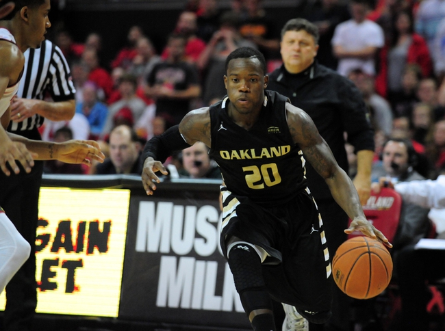 Wright State Raiders vs. Oakland Grizzlies - 2/18/15 College Basketball Pick, Odds, and Prediction