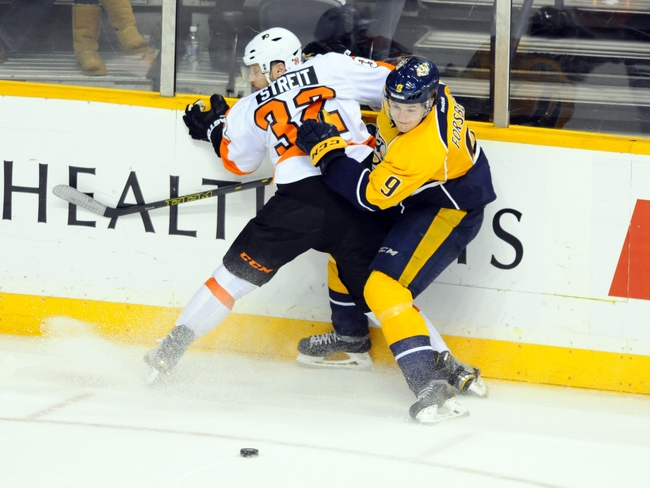 Predators vs. Flyers - 2/4/16 NHL Pick, Odds, and Prediction
