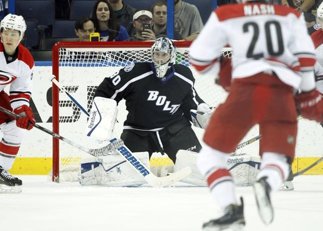 Carolina Hurricanes vs. Tampa Bay Lightning - 1/27/15 NHL Pick, Odds, and Prediction