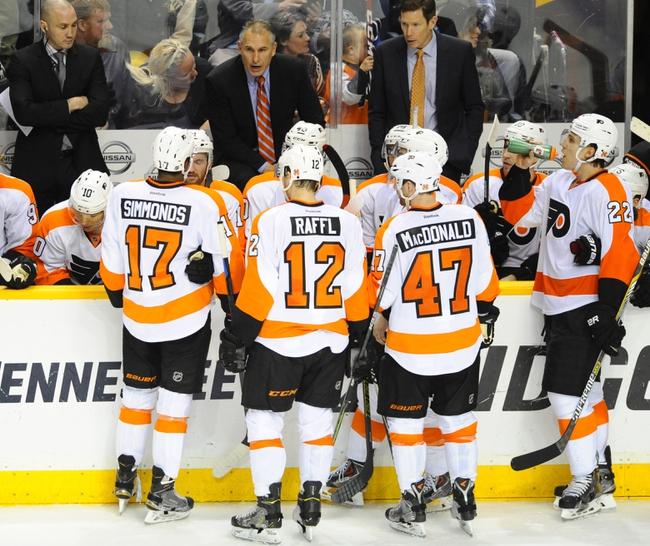Arizona Coyotes vs. Philadelphia Flyers - 12/29/14 NHL Pick, Odds, and Prediction