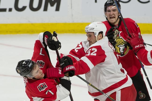 Detroit Red Wings vs. Ottawa Senators - 3/31/15 NHL Pick, Odds, and Prediction