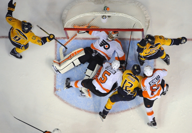 Flyers vs. Predators - 2/21/15 NHL Pick, Odds, and Prediction