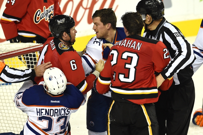 Flames vs. Oilers - 12/31/14 NHL Pick, Odds, and Prediction