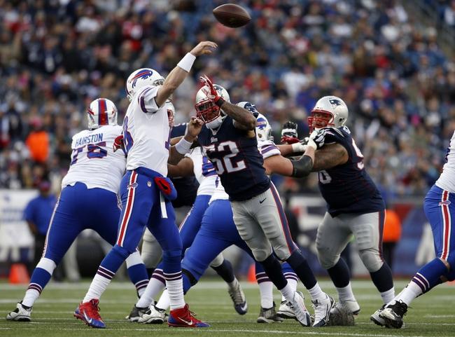 New England Patriots at Buffalo Bills-  9/20/15 NFL Pick, Odds, and Prediction