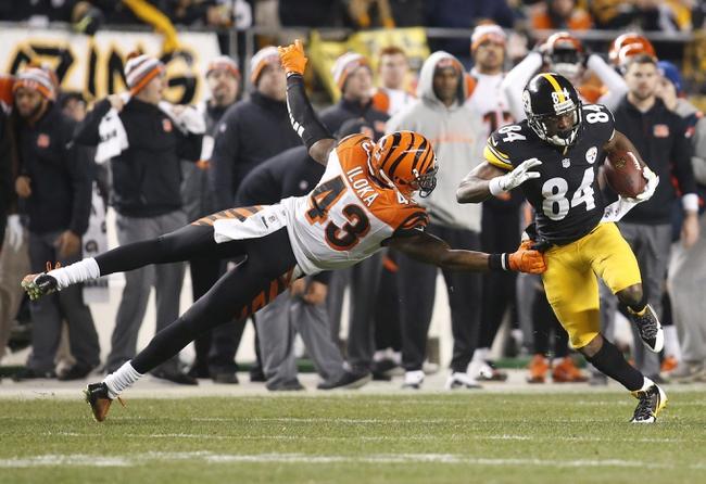 Pittsburgh Steelers vs. Cincinnati Bengals - 11/1/15 NFL Pick, Odds, and Prediction