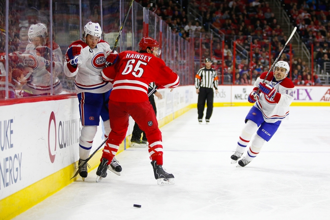 Canadiens vs. Hurricanes - 3/19/15 NHL Pick, Odds, and Prediction
