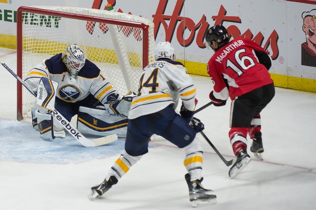 Sabres vs. Senators - 2/10/15 NHL Pick, Odds, and Prediction