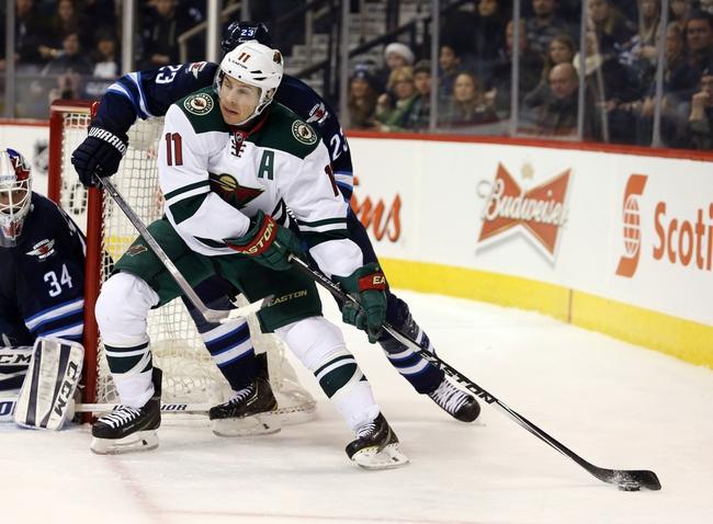 Winnipeg Jets vs. Minnesota Wild - 2/10/15 NHL Pick, Odds, and Prediction