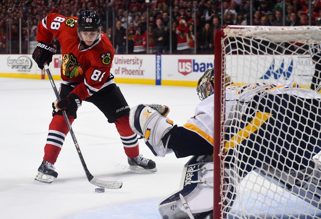Chicago Blackhawks at Nashville Predators- 4/15/15 NHL Pick, Odds, and Prediction