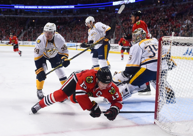 Nashville Predators vs. Chicago Blackhawks Stanley Cup Playoffs - 4/15/15 NHL Pick, Odds, and Prediction