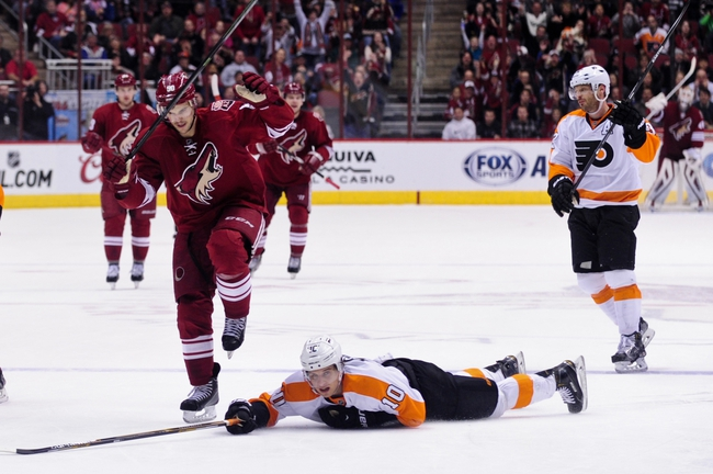 Coyotes vs. Flyers - 3/26/16 NHL Pick, Odds, and Prediction