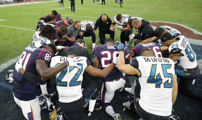 Jacksonville Jaguars vs. Houston Texans - 10/18/15 NFL Pick, Odds, and Prediction