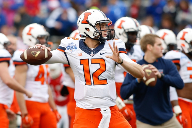 Illinois vs. Middle Tennessee - 9/26/15 College Football Pick, Odds, and Prediction