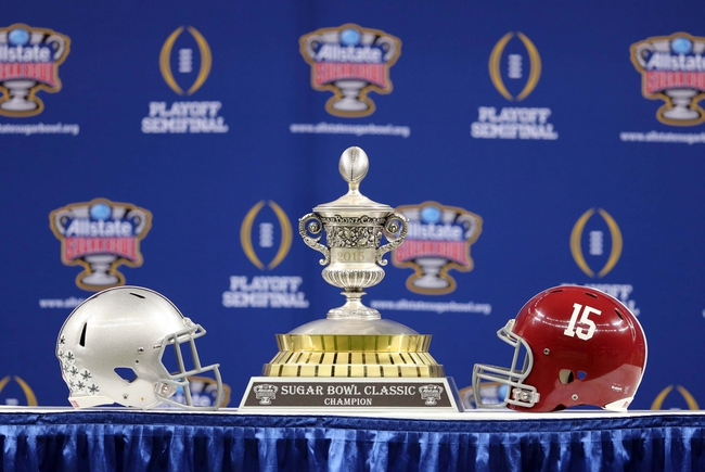 Ohio State vs. Alabama Sugar Bowl - 1/1/15 College Football Pick, Odds, and Prediction