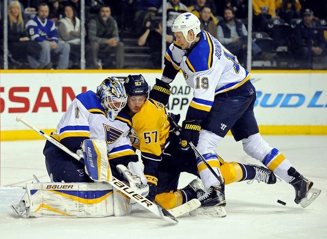 St. Louis Blues vs. Nashville Predators -  NHL Pick, Odds, and Prediction