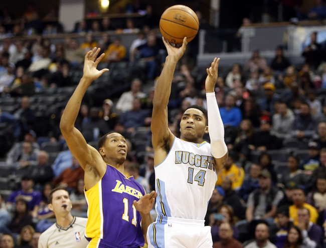 Lakers vs. Nuggets - 2/10/15 NBA Pick, Odds, and Prediction