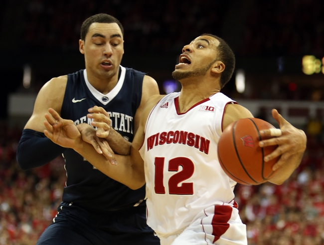Penn State vs. Wisconsin - 2/18/15 College Basketball Pick, Odds, and Prediction
