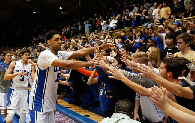 Duke vs. Boston College - 1/3/15 College Basketball Pick, Odds, and Prediction