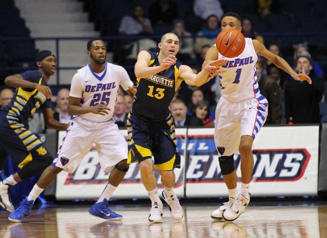 Marquette vs. DePaul - 3/7/15 College Basketball Pick, Odds, and Prediction