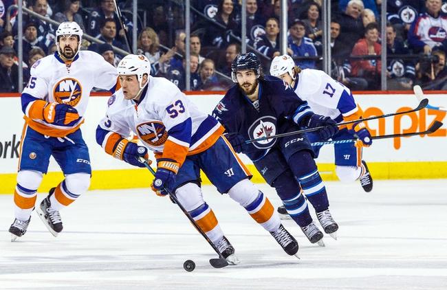 New York Islanders vs. Winnipeg Jets - 10/12/15 NHL Pick, Odds, and Prediction
