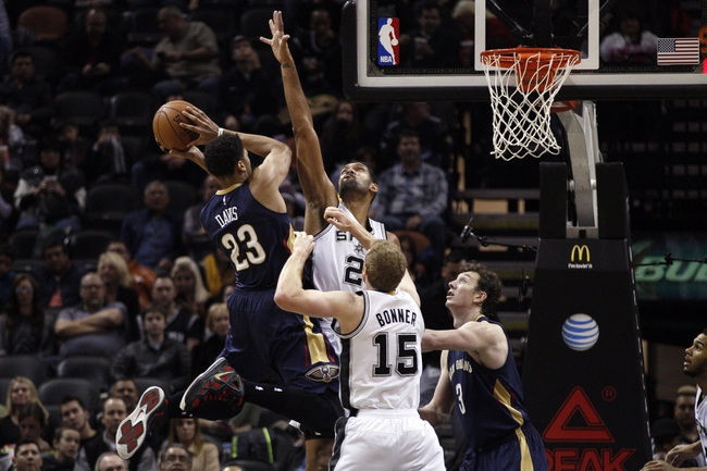 Spurs at Pelicans - 4/15/15 NBA Pick, Odds, and Prediction