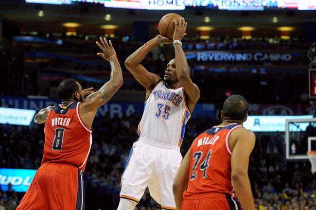 Washington Wizards vs. Oklahoma City Thunder - 1/21/15 NBA Pick, Odds, and Prediction