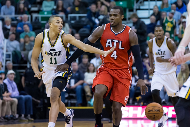 Jazz at Hawks - 11/15/15 NBA Pick, Odds, and Prediction