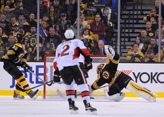 Senators vs. Bruins - 3/10/15 NHL Pick, Odds, and Prediction