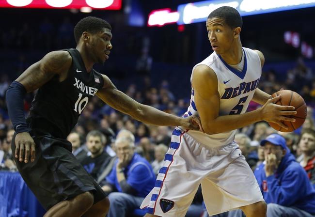 Xavier vs. DePaul - 1/24/15 College Basketball Pick, Odds, and Prediction