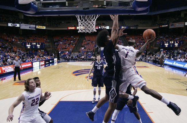 Utah State vs. Boise State - 2/3/15 College Basketball Pick, Odds, and Prediction