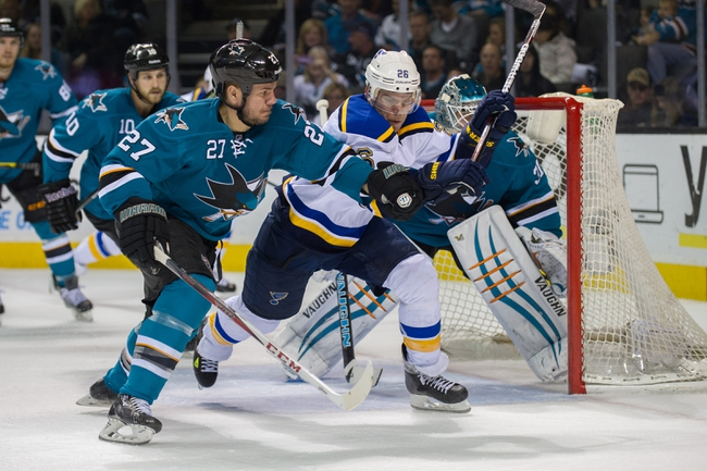 Blues vs. Sharks - 1/8/15 NHL Pick, Odds, and Prediction