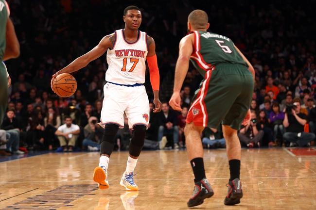 New York Knicks vs. Milwaukee Bucks - 4/10/15 NBA Pick, Odds, and Prediction