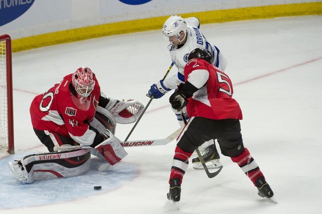 Ottawa Senators vs. Tampa Bay Lightning - 4/2/15 NHL Pick, Odds, and Prediction