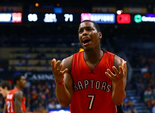 Toronto Raptors vs. Charlotte Hornets - 1/8/15 NBA Pick, Odds, and Prediction
