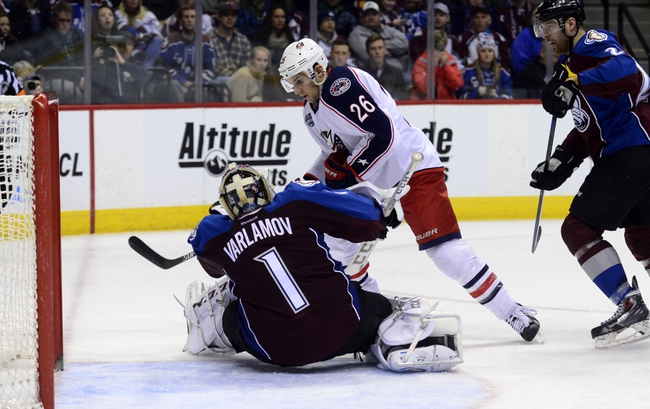 Colorado Avalanche vs. Columbus Blue Jackets - 10/24/15 NHL Pick, Odds, and Prediction