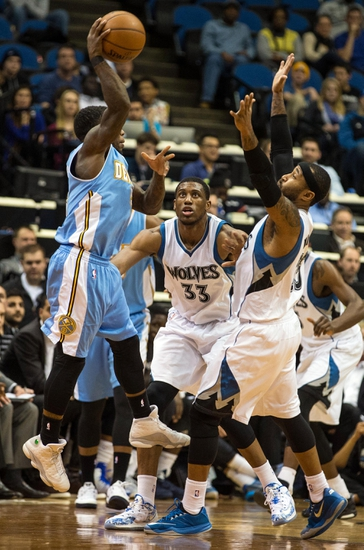Denver Nuggets vs. Minnesota Timberwolves - 1/17/15 NBA Pick, Odds, and Prediction