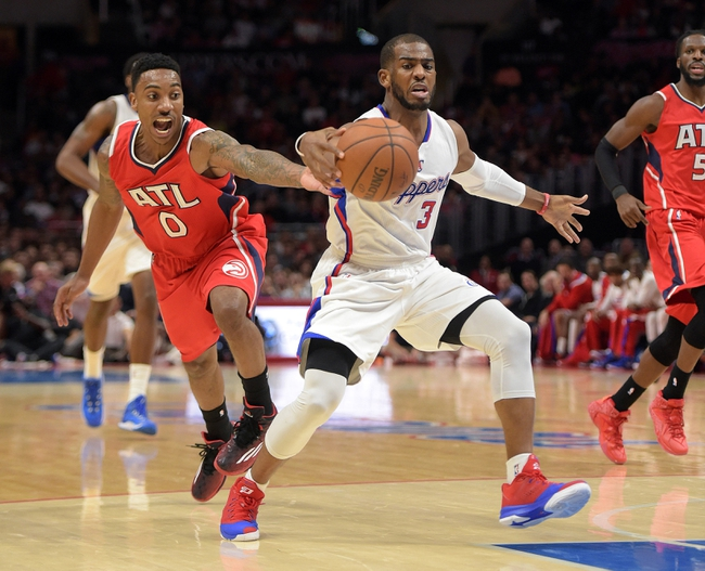 Clippers at Hawks - 1/27/16 NBA Pick, Odds, and Prediction