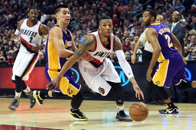 Los Angeles Lakers vs. Portland Trail Blazers - 1/11/15 NBA Pick, Odds, and Prediction