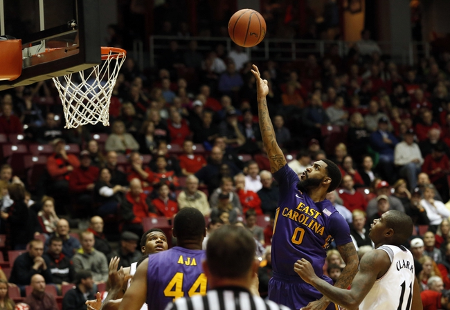 East Carolina Pirates vs. Houston Cougars - 1/14/15 College Basketball Pick, Odds, and Prediction
